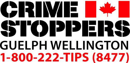 Crime Stoppers Guelph Wellington 1-800-222-TIPS (8477)